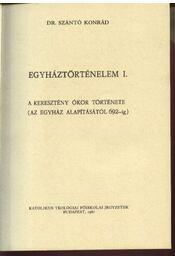 Egyháztörténelem I. - Régikönyvek