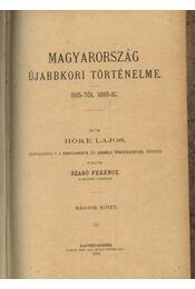Magyarország újabbkori történelme - Régikönyvek