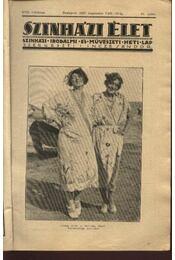 Szinházi élet 1927. 32. szám - Régikönyvek
