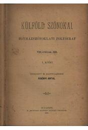 Külföld szónokai - Régikönyvek