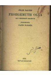 Frohgemuth Olga - Régikönyvek