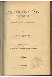 Angolország történelme I. - Régikönyvek