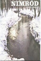 Nimród 1978. évfolyam (teljes) - egybekötve - Régikönyvek
