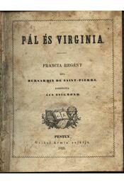 Pál és Virginia - Régikönyvek