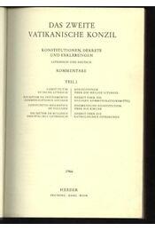 Lexikon für Theologie und Kirche I-III. - Régikönyvek