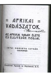 Afrikai vadászatok - Régikönyvek