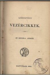 Keresztény vezércikkek - Régikönyvek