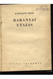 Baranyai utazás - Régikönyvek