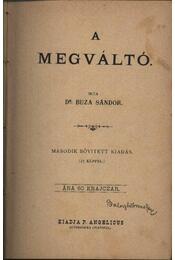 A Megváltó - Dr. Buza Sándor - Régikönyvek