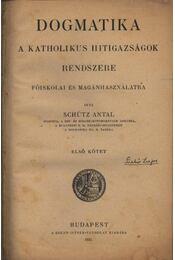 Dogmatika I.-II. - Régikönyvek