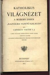 Katholikus világnézet - Régikönyvek