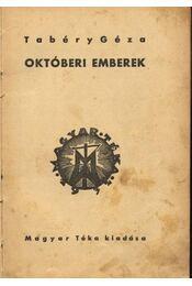 Októberi emberek - Régikönyvek
