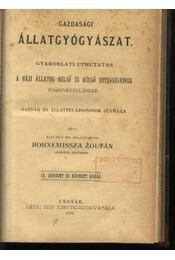 Gazdasági állatgyógyászat - Régikönyvek
