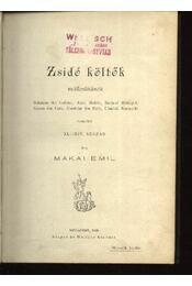 Zsidó költők - Régikönyvek