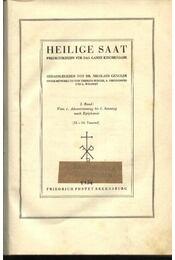 Heilige Saat I-IV. Band - Régikönyvek