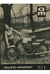 Autó-motor 1972. január-december (1-24) teljes - Régikönyvek