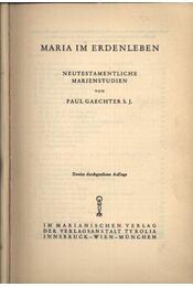 Maria im Erdenleben - Régikönyvek