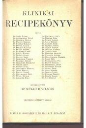 Klinikai recipekönyv - Régikönyvek