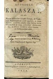 Apostoli kalászat - Régikönyvek