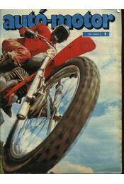 Autó-motor 1984. (teljes) - Régikönyvek