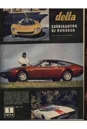 Delta 1974 évfolyam - Régikönyvek