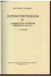 Egyháztörténelem II. - Régikönyvek