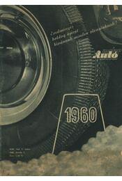 Autó-motor 1960. január-december - Régikönyvek