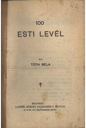 100 esti levél - Régikönyvek