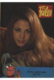 Füles (1972. év jan., febr., márc., ápr. hónapok) - Régikönyvek
