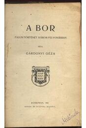 A bor - Régikönyvek