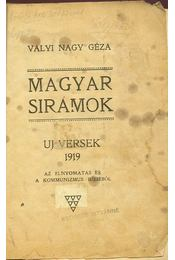 Magyar sirámok - Régikönyvek