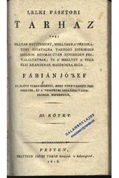 Lelkipásztori tárház III-IV. kötet - Régikönyvek