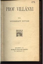 Prof. Villányi - Régikönyvek