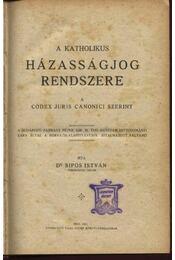 A katholikus házasságjog rendszere a Codex Juris Canonici szerint - Régikönyvek