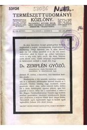 Természettudományi Közlöny XLVIII. kötet - Régikönyvek