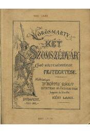 Vörösmarty Két szomszédvár című költeményének fejtegetése - Régikönyvek