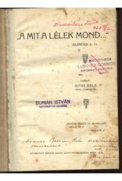 Amit a lélek mond...; A Heidelbergi káté magyarázatai; Kálvin János ifjúkori levelei - Régikönyvek