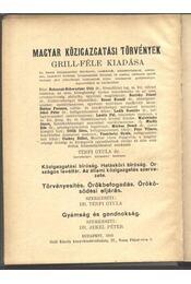 Közigazgatási-, hatásköri bíróság - Régikönyvek