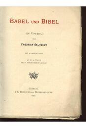 Babel und bibel - Régikönyvek