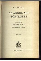 Az angol nép története I-II. kötet - Régikönyvek