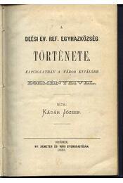 A Deési Ev. Ref. Egyházközség - Régikönyvek