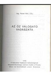 Az őzválogató vadászata - Régikönyvek