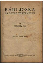 Rádi Jóska és egyéb történetek - Régikönyvek
