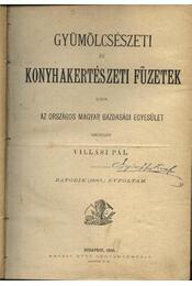 Gyümölcsészeti és konyhakertészeti füzetek 6. évfolyam - Régikönyvek