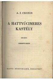 A hattyúcimeres kastély - Régikönyvek