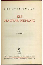 Kis magyar néprajz - Régikönyvek