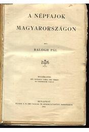 A népfajok Magyarországon - Régikönyvek