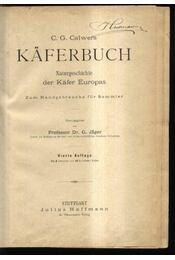 Käferbuch - Régikönyvek