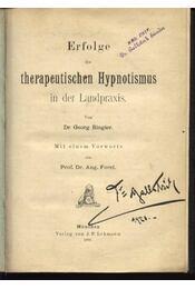 Erfolge des therapeutischen Hypnotismus in der Landpraxis - Régikönyvek