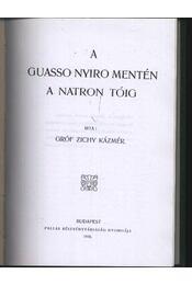 A Guasso Nyiro mentén a Natron tóig - Régikönyvek